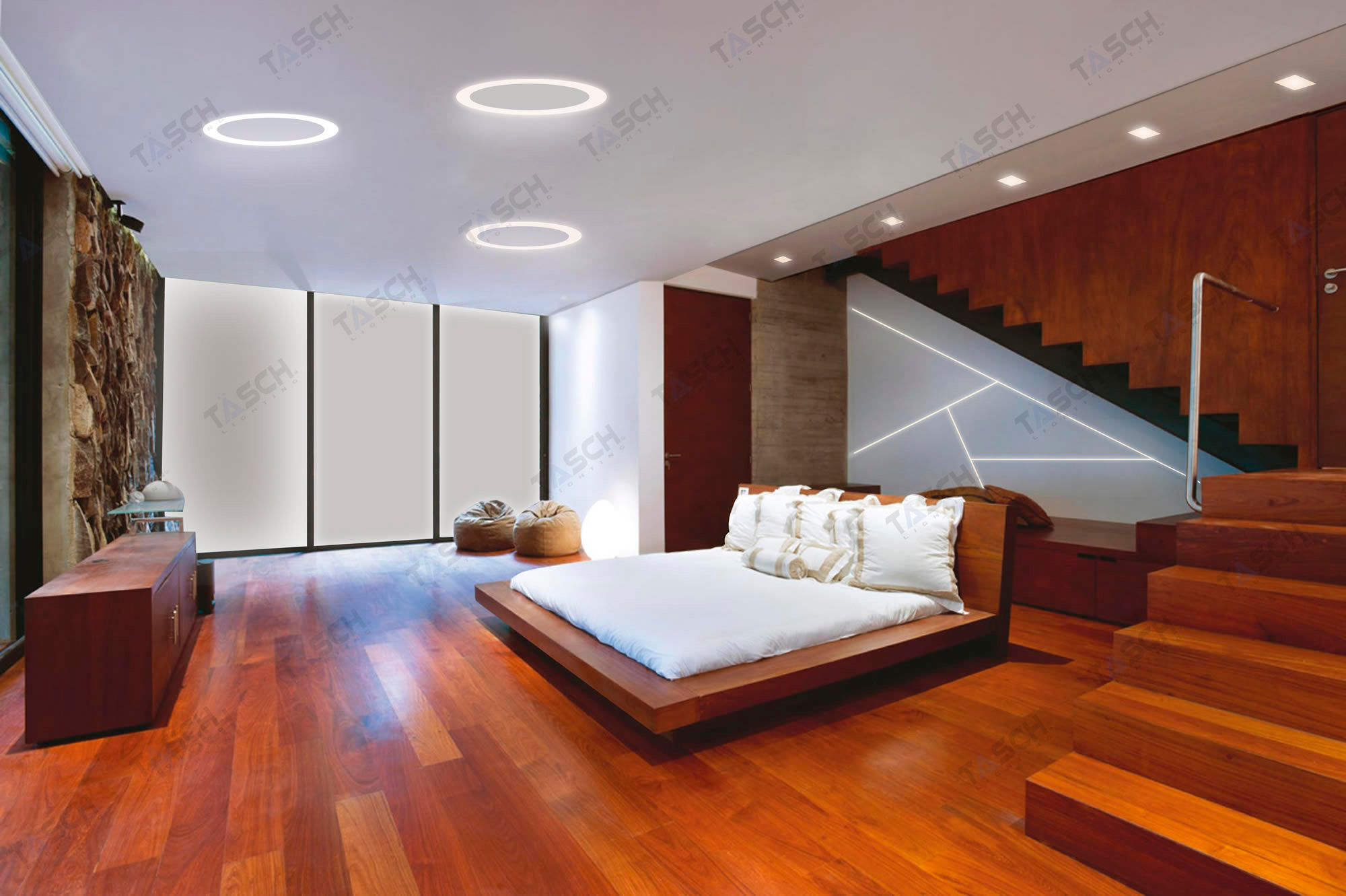 ... Click To Enlarge Image 1_Bedroom Design Ideas, Linear Lighting Miami, LED  Lighting Miami, ...