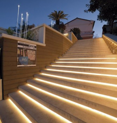 Outdoor Stairs Lighting Outdoor stair light workwithnaturefo